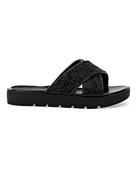 Dayton Diamante Sandals Wide Fit