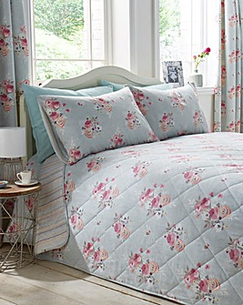 Penelope Reversible Quilted Throwover