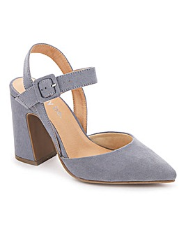 Aurelian Flared Heel Court Extra Wide