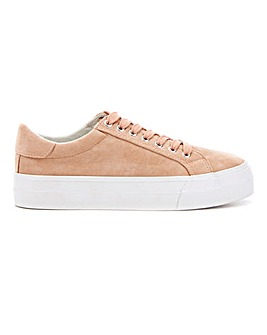 Giselle Flatform Trainers Extra Wide Fit