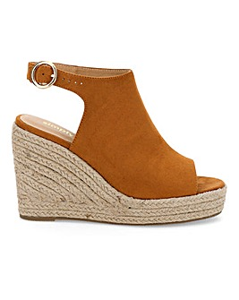 Peru Espadrille Wedge Extra Wide Fit