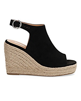 Peru Espadrille Wedge Wide E Fit