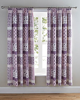 Rosina Thermal Pencil Pleat Curtains