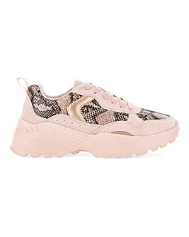 Anna Chunky Trainer Wide Fit