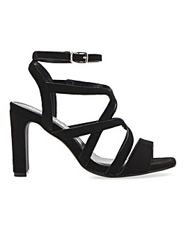 Geneva Cage Sandals Wide Fit