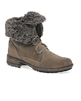 Josef Seibel Sally Fur Lined Ankle Boots