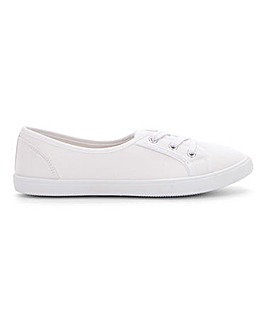 Lilo Plimsolls Wide Fit