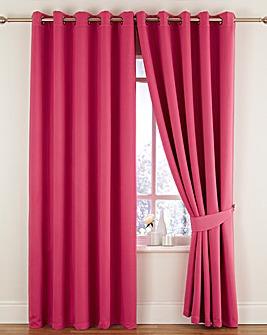 Twilight Woven Blackout Eyelet Curtains