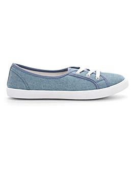 Lilo Plimsolls Wide E Fit