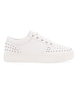 Ariel Studded Trainers Wide Fit