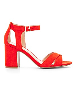 Helen Mid Block Heel Wide Fit