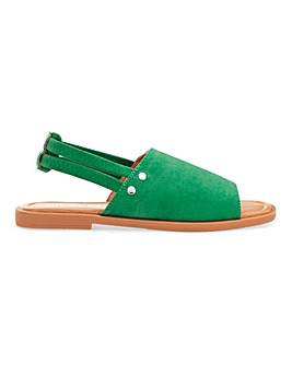 Albany Elastic Sandal Extra Wide Fit