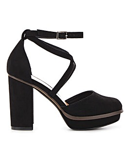 Bellona Platform Heels Extra Wide Fit