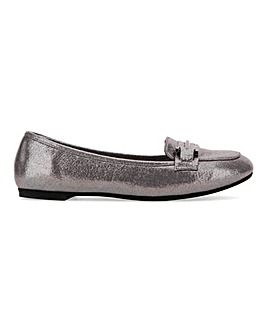 Tyche Metal Trim Loafer Extra Wide EEE Fit