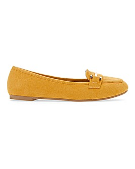 Tyche Metal Trim Loafer Wide E Fit