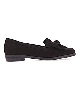 Zeno Twist Front Loafer Wide Fit