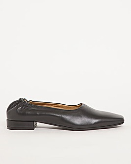 Leather Slip On Loafer Extra Wide EEE Fit