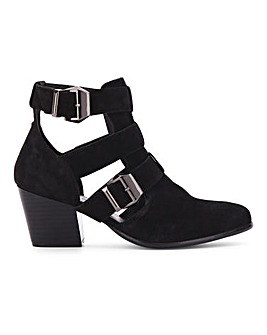 Fern Leather Ankle Boot Wide E Fit