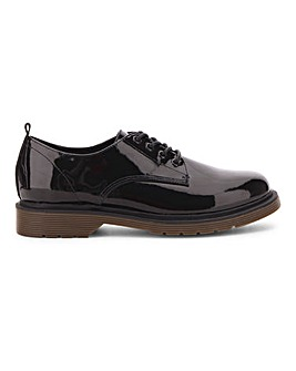 Nero Lace Up Brogue Wide Fit