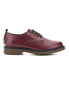 Nero Lace Up Brogue Extra Wide Fit