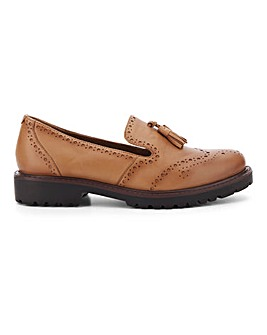 Hecate Leather Shoes Extra Wide Fit