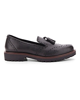 Hecate Leather Shoes Wide E Fit