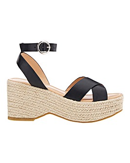 Tuscany Espadrille Wedge Extra Wide EEE Fit