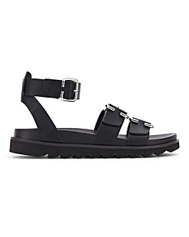 Tulsa Ankle Strap Footbed Extra Wide Fit