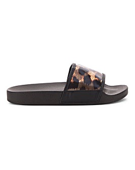 Cali Tortoise Perspex Slide Wide Fit