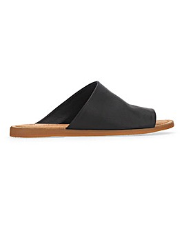 Laguna Leather Mule Wide Fit
