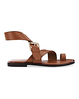 Ohio Toe Loop Leather Sandal Extra Wide