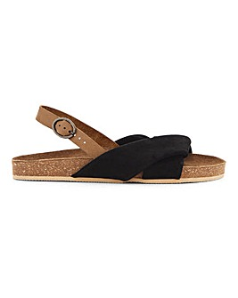 Bermuda Twist Leather Footbed Extra Wide