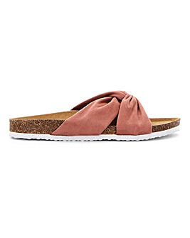 Jose Twist Front Sandal Wide Fit
