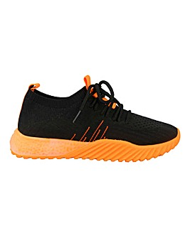 Lace Up Sport Trainer Standard Fit