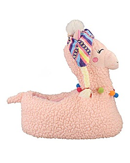 Llama Slipper Wide Fit