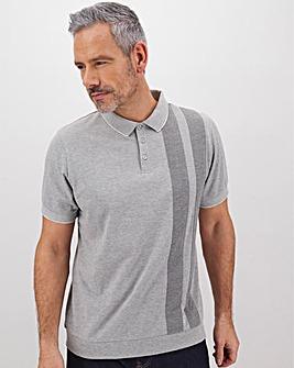 Welted Hem Polo Shirt