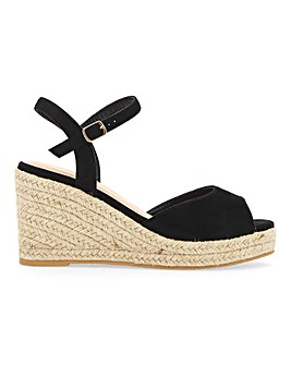 Dree Espadrille Wedge Extra Wide EEE Fit