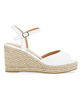 Dree Espadrille Wedge Extra Wide Fit
