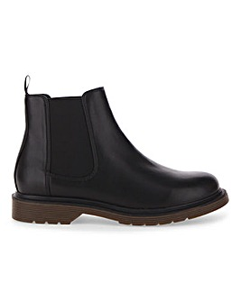 Maple Chelsea Boot Wide E Fit