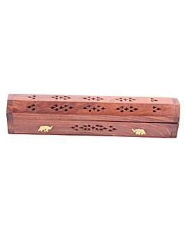 Decorative Sheesham Wood Box Elephant