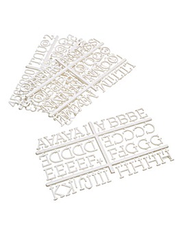 Spare Letter Pack - White
