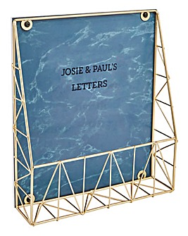 Personalised Letter Holder