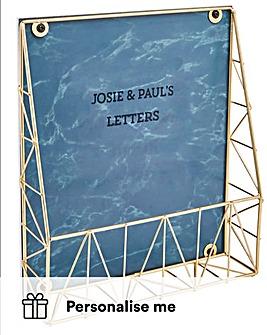 Personalised Letter Holder