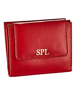 Personalised Leather Purse with RFID