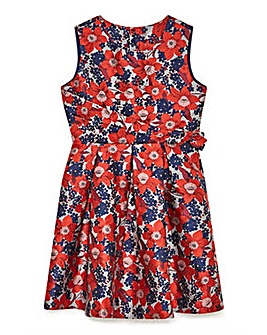 Yumi Girl Festive Floral Prom Dress