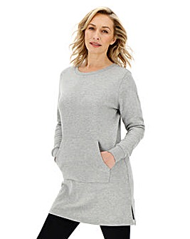 Grey Marl Better Sweat Tunic