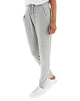 Grey Marl Soft Touch Trousers