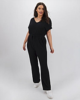 Black Soft Touch Jumpsuit