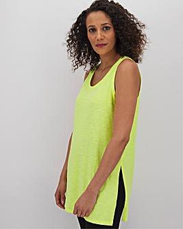 Bright Lemon Slouch Vest