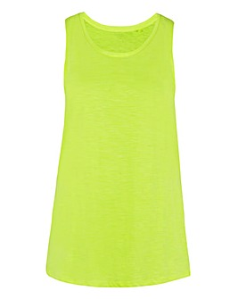 Bright Lemon Slouch Vest